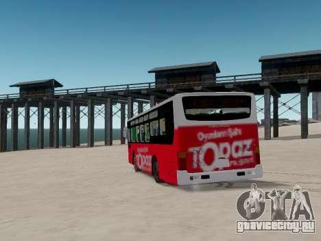 Daewoo BC211MA Baku для GTA 4 вид сбоку