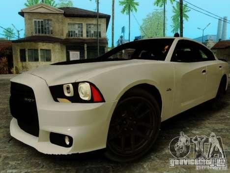 Dodge Charger SRT8 2012 для GTA San Andreas вид справа