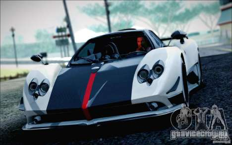 Pagani Zonda Cinque Roadster 2009 для GTA San Andreas