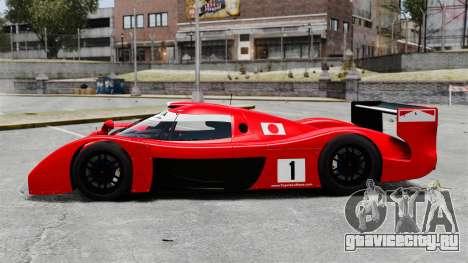 Toyota GT-One TS020 для GTA 4 вид слева