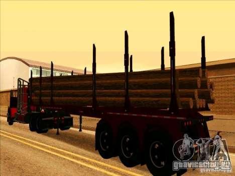 Прицеп к Western Star 4900 для GTA San Andreas вид справа