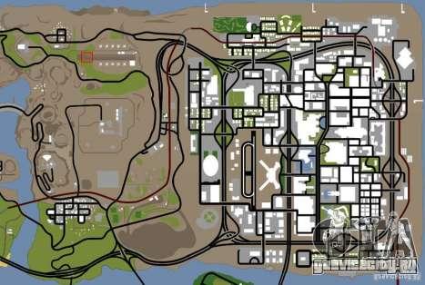 Эйфелева Башня из Call of Duty Modern Warfare 3 для GTA San Andreas седьмой скриншот