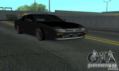Nissan 200SX Turbo для GTA San Andreas вид справа