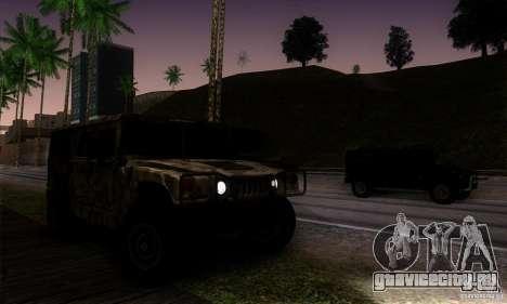 Hummer H1 для GTA San Andreas вид сбоку
