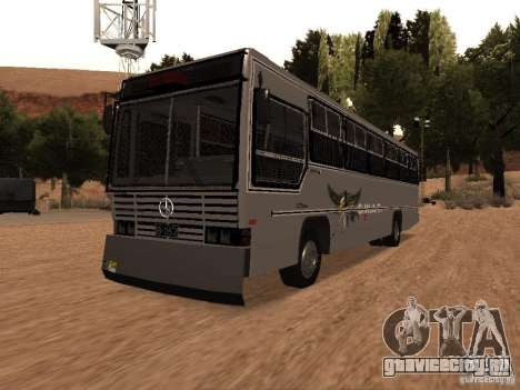 Mercedes Benz SWAT Bus для GTA San Andreas