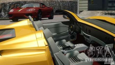 Ferrari 360 Spider 2000 для GTA 4 вид сзади слева