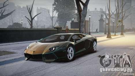 Lamborghini Aventador LP700-4 для GTA 4 вид слева