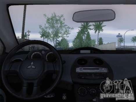 Mitsubishi Eclipse GT V6 для GTA San Andreas салон