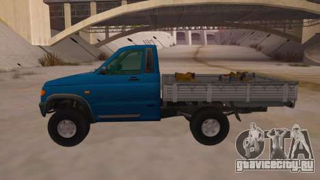 УАЗ-2360 для GTA San Andreas вид слева