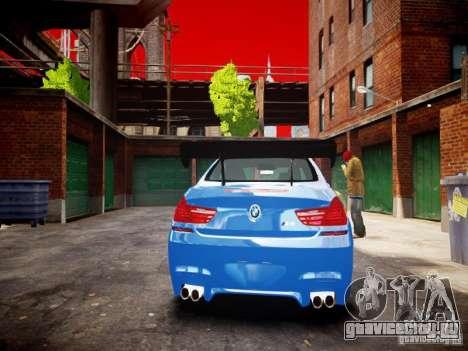 BMW M6 2013 для GTA 4 вид справа