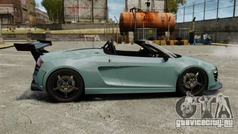 Audi R8 Spider Body Kit для GTA 4 вид слева