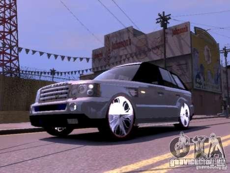 Range Rover DUB 2.0 для GTA 4 вид слева