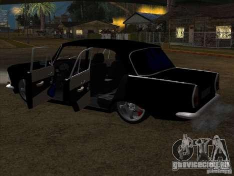 Москвич 408 Extra Style для GTA San Andreas вид сзади