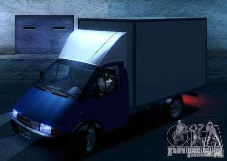 ГАЗель 33021 для GTA San Andreas колёса