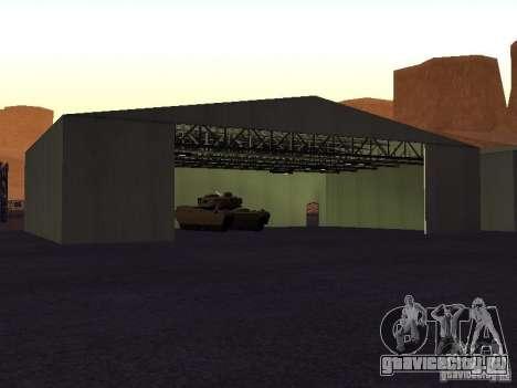 Миниган на танке для GTA San Andreas