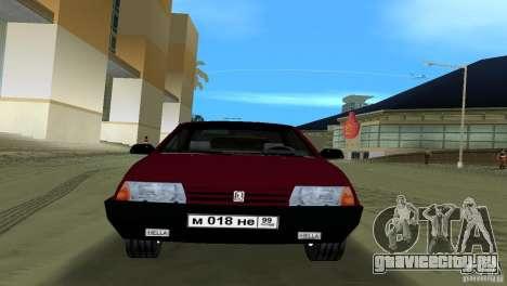 ВАЗ 21099 для GTA Vice City вид сзади слева