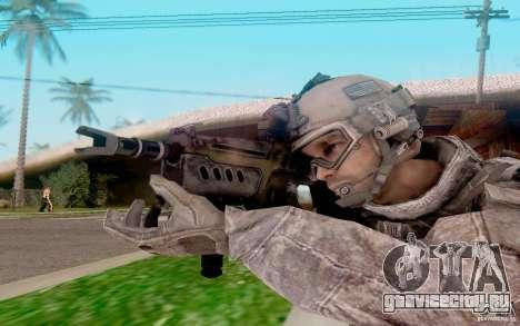 Tavor Ctar-21 из warface для GTA San Andreas третий скриншот