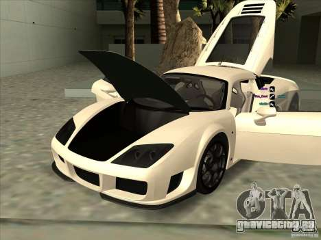 Noble M600 для GTA San Andreas вид сбоку