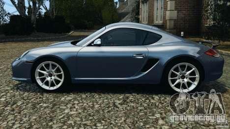Porsche Cayman R 2012 для GTA 4 вид слева