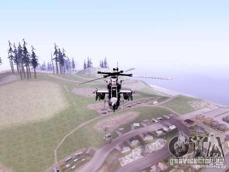 AH-1Z Viper для GTA San Andreas вид слева