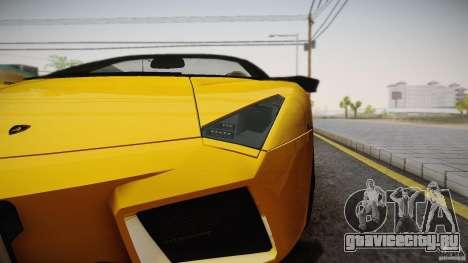 Lamborghini Reventón Roadster 2009 для GTA San Andreas вид слева