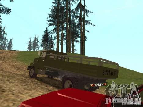 ЗиЛ 4331 для GTA San Andreas вид сзади слева
