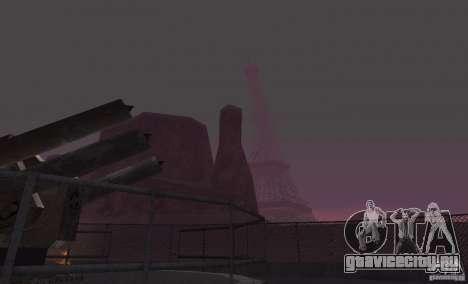 Эйфелева Башня из Call of Duty Modern Warfare 3 для GTA San Andreas третий скриншот