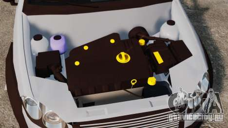 Fiat Palio Adventure Locker Evolution для GTA 4 вид изнутри