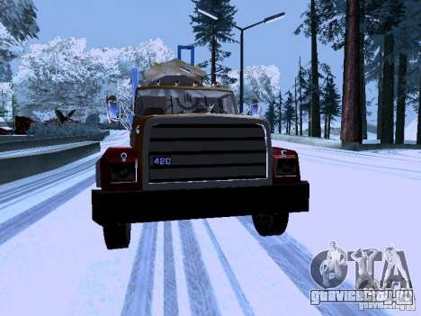RTS 420 Шаталка для GTA San Andreas вид сзади