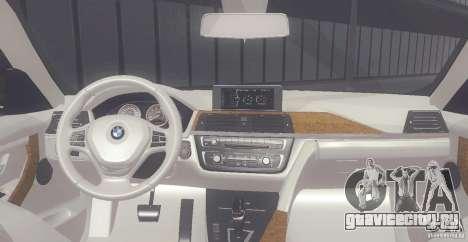 BMW 335i Coupe 2013 для GTA San Andreas вид справа