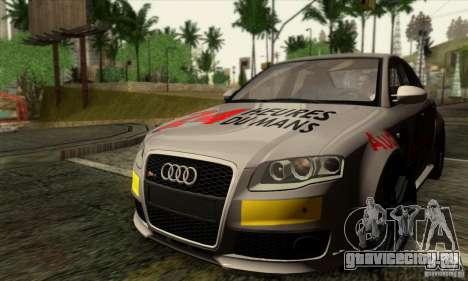 Audi RS4 для GTA San Andreas вид сверху