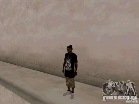 Темнокожий Парень для GTA San Andreas третий скриншот