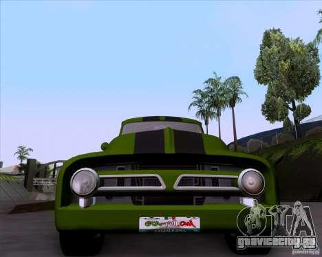 Ford FR-100 2003 для GTA San Andreas вид сзади