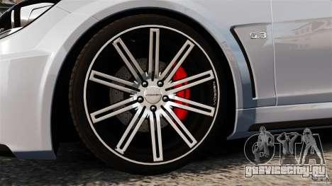 Mercedes-Benz C 63 AMG для GTA 4 вид сбоку