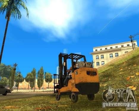 Погрузчик из COD MW 2 для GTA San Andreas вид слева