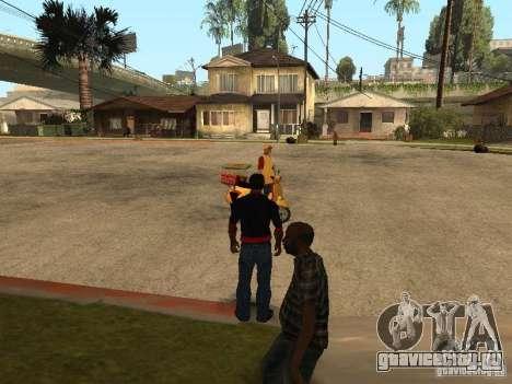 Голодный CJ v.3 final для GTA San Andreas