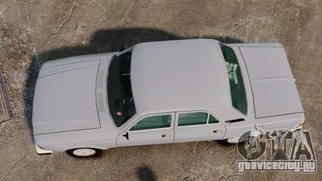 ГАЗ-3102 v2 для GTA 4 вид справа