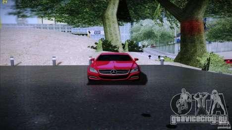 Mercedes Benz CLS 350 2011 для GTA San Andreas вид справа