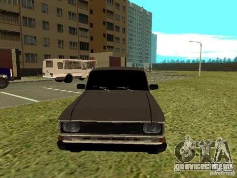 Москвич 2140 для GTA San Andreas вид слева