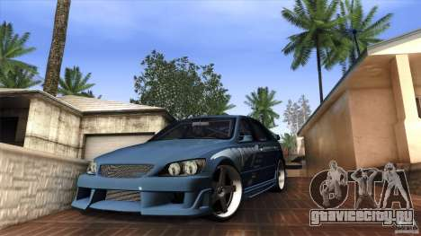 Lexus IS 300 Veilside для GTA San Andreas вид слева