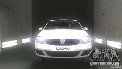 Dacia Logan для GTA Vice City