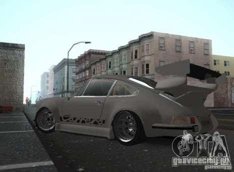 Porsche Carrera RS RWB для GTA San Andreas вид слева