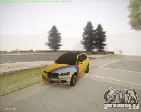 BMW X5 Smotra для GTA San Andreas вид слева