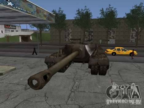 ПТ-САУ T95 для GTA San Andreas вид справа