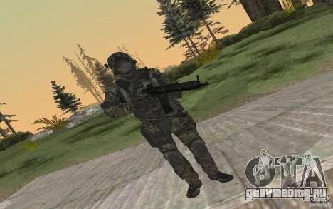 Seals soldier from BO2 для GTA San Andreas четвёртый скриншот