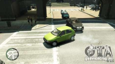 Fiat Palio для GTA 4 вид сзади слева