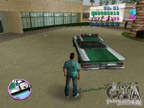 Voodoo Police для GTA Vice City вид справа