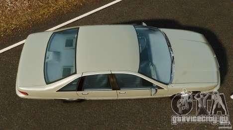 Chevrolet Caprice 1991 для GTA 4 вид справа