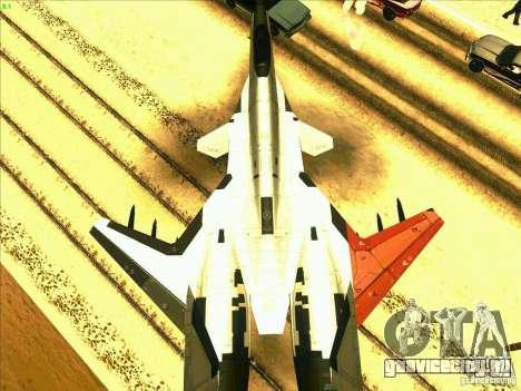 ADFX-02 Morgan для GTA San Andreas вид справа