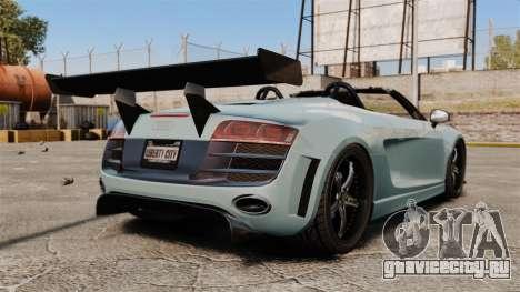 Audi R8 Spider Body Kit для GTA 4